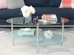 walker edison coffee table wave dual oval coffee table walker edison