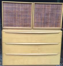 Heywood Wakefield Buffet Credenza by Heywood Wakefield High Drawers
