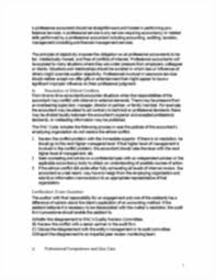 chp code chp 3 ethics for professional accountants ethics for