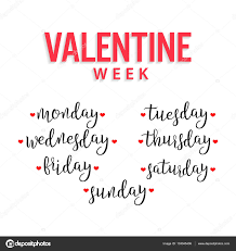valentine week monday tuesday wednesday thursday friday