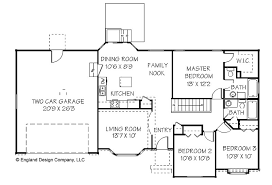 Two Story Rectangular House Plans Simple House Plan There Are More Simple House Plans 4 Bedrooms