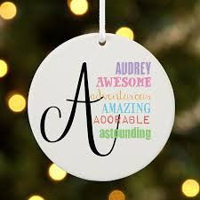 personalized delicate ornaments at personal creations