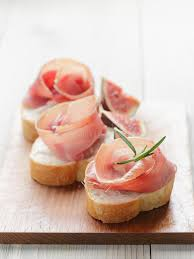 traditional canapes canapes with jamon stock photo image of bread 40718634