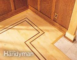 Hardwood Floor Borders Ideas How To Lay Hardwood Floor With A Contrasting Border Family Handyman