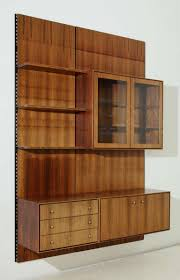 danish wall unit in rosewood wall mount storage and walls