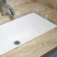 Undermount Rectangular Vanity Sinks Rectangular Bathroom Sink Ebay