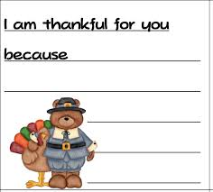 free i m thankful notes printables for teachers to give students