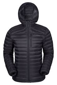 henry mens down padded jacket mountain warehouse gb