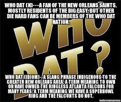 Saints Falcons Memes - un categorized who dat n a fan of the new orleans saints