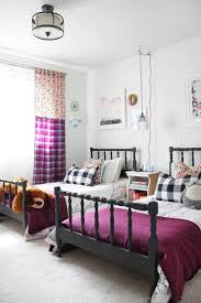 expansive girls kids bedrooms light hardwood decor table lamps