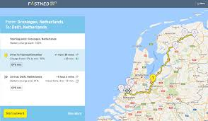 Trip Planner Map Fastned Launches Charging Station Trip Planner Cleantechnica