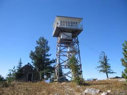 Fire Evacuations Libby Mt by Kootenai National Forest Big Creek Baldy Lookout