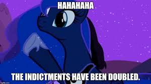 Mlp Luna Meme - luna doubles memes imgflip