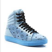 shoes black friday 80 off mcm shoes black friday mcm blue visetos sneakers size