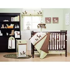 Woodland Nursery Bedding Set by Crib Set Deer Creative Ideas Of Baby Cribs