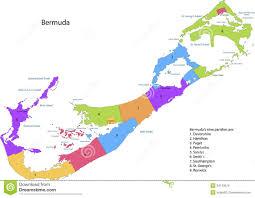 Bermuda Triangle Map Bermuda Map Royalty Free Stock Photo Image 34143575