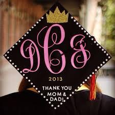 monogram graduation cap monogram grad caps archives graduation cap ideas