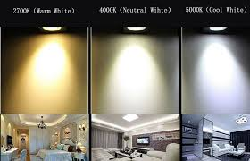 led lights warm white neutral white cool white white