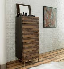 decor modern tall chest of drawers with mirror and white painted
