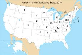 map of southeast canada amish state guide
