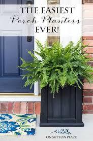 best planters planters for front porch best 25 ideas on pinterest door 18 spring