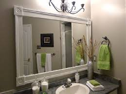 bathroom mirror decor bathroom mirrors home decoration ideas