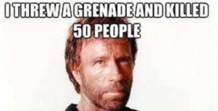 Meme Chuck Norris - there s a simple tweak that s giving chuck norris memes a new kick