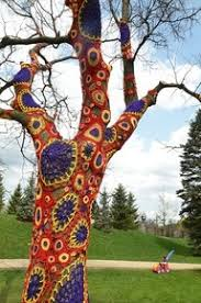 13 best tree sweaters images on yarn bombing