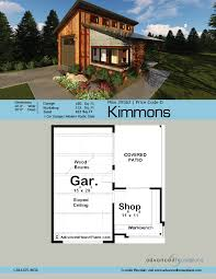 1 car garage dimensions modern style specialty garage plan kimmons