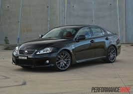 lexus isf v8 supercar 2013 lexus is f review video performancedrive