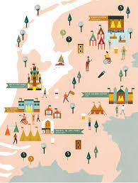 Nhl Map Festival Map Saskia Rasink