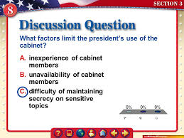 Number Of Cabinet Members What Are The Prime Duties Of The Presidency The Single Most