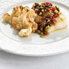 cuisiner poisson blanc poisson aux pistaches et aux tomates séchées chou fleur grillé