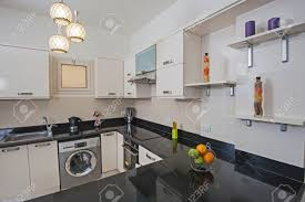 kitchen area design american style kitchen area of luxury apartment showing interior