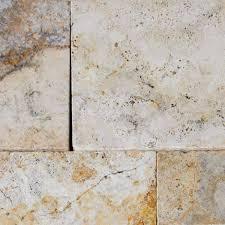 tuscany porcini tumbled travertine 16x16 pavers tile