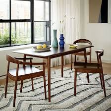 Modern Dining Room Table And Chairs by Lena Mid Century Dining Table Large West Elm