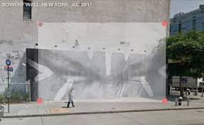 google walls peeling off the painted layers of nyc walls experiments with the