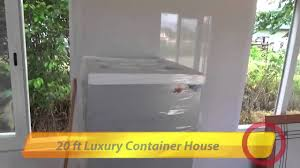 20 ft luxury container house in suriname youtube