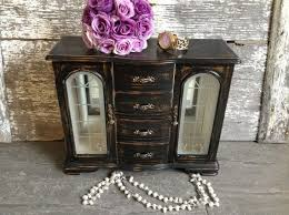 Shabby Chic Jewelry Armoire by 131 Best Jewelry Boxes Images On Pinterest Jewelry Storage