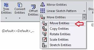 sketch modifying tools in solidworks part2 cadoasis