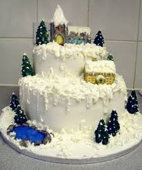 how to decorate a cake at home 19 amazingly breathtaking christmas cake decorations playbuzz