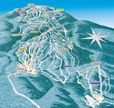 Ski Utah Map by Every New York Ski Resort Trail Map Whiteface Gore Windam And