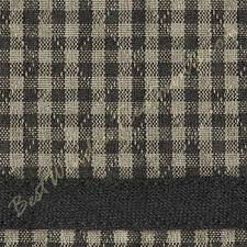 Black Gingham Curtains Brentwood Gingham Plaid Check Empire Valance In Quilted