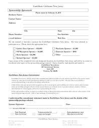 event sponsorship agreement template eliolera com