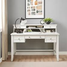 adler computer desk with hutch white crosley target
