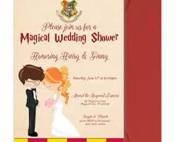 harry potter wedding invitations harry potter wedding shower invitation harry potter bridal