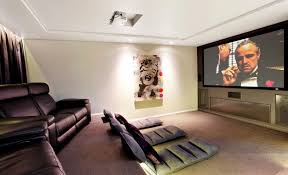 Modern Media Room Ideas - get comfy with floor cushions and serenity will follow