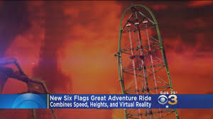 New York Six Flags Great Adventure Six Flags Great Adventure Cbs Philly