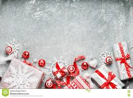 christmas background with white red gift wrap festive holiday