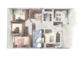 Floor Plans Definition by Dream House Plans Interior Sketch Interior Design Architectural